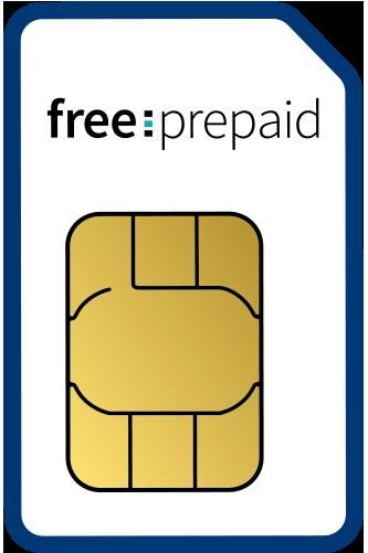 free-prepaid Logo